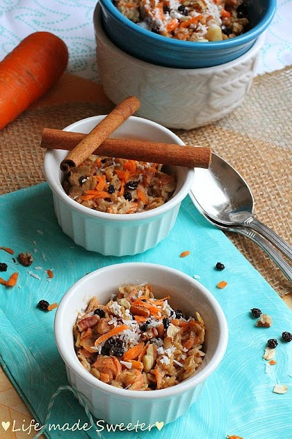Coconut Carrot Cake Oatmeal - Life made Sweeter 7.jpg