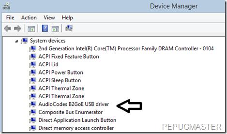 Sterownik USB Audiocodes dodany
