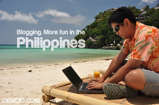 Blogging. More Fun in the Philippines
