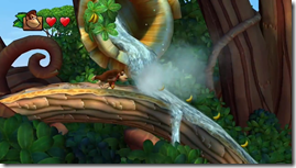 Donkey Kong Country Tropical Freeze, Donkey na cachoeira