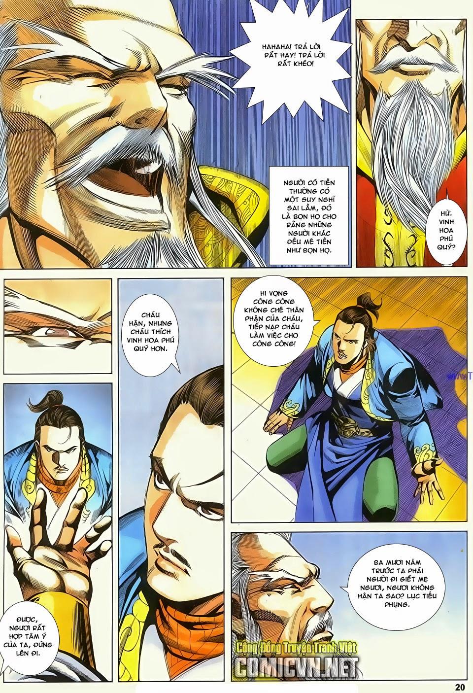 Cổ Long Quần Hiệp Truyện chap 83 - Trang 20