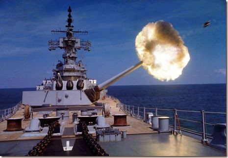USS New Jersey16inchshells
