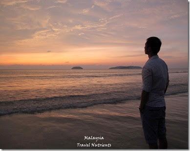 沙巴亞庇丹容亞路海灘夕陽 Perdana Park音樂水舞 (21)