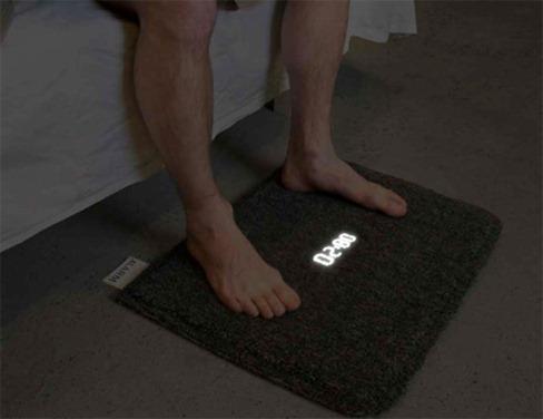 Despertador de tapete