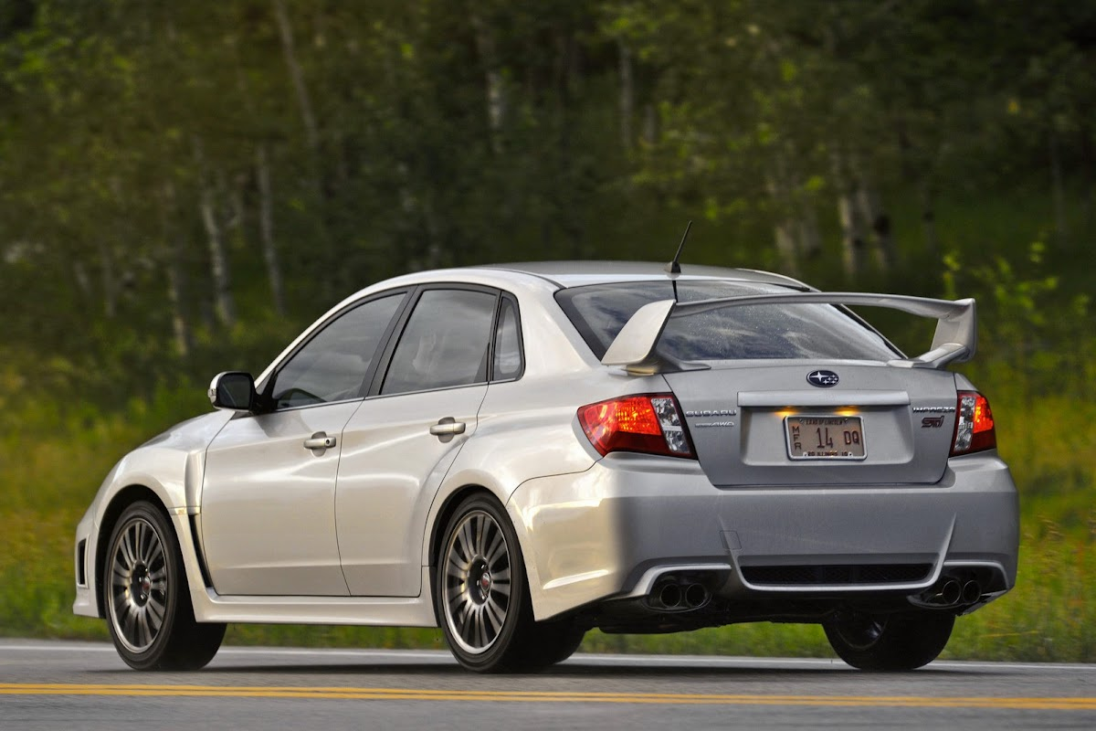 2014 subaru wrx and sti continue as is with a small price increase
