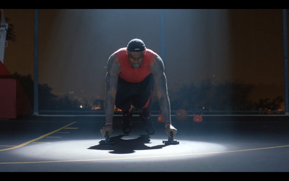 new nike lebron james commercial quotbasketball never stops