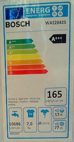 produktinfo und test bosch wae28425 waschmaschine. Black Bedroom Furniture Sets. Home Design Ideas