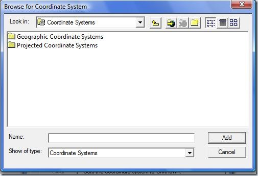 F3. Bowse coordinate system