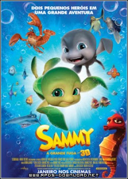 51079ad40afa4 Sammy: A Grande Fuga Dublado H264 DVDRip