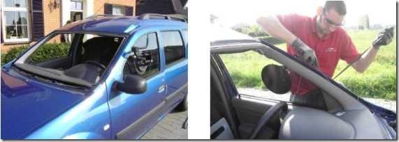 19a Dacia vervangen voorruit