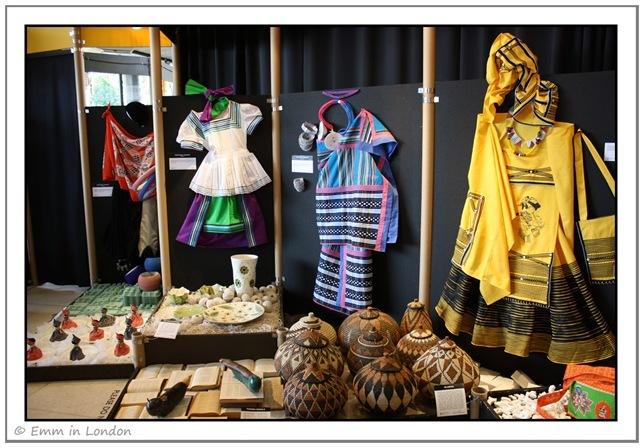South African traditional dress at Ekhaya