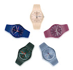 Nuevos Colores New Gent Swatch Collection. Gentileza: Marce Garcia Press&PR.