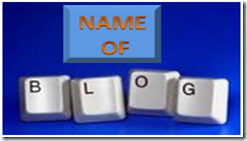 DOMAIN NAME OF BLOG