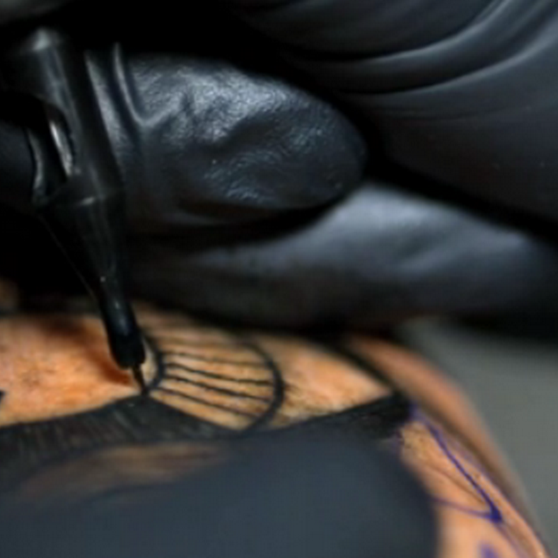 Tatuaje a super slowmotion