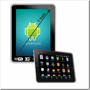 Maxtouch 7 inch tablet PC