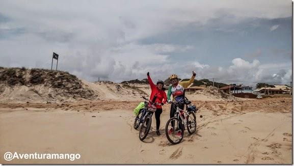 Início da Praia de Malembá