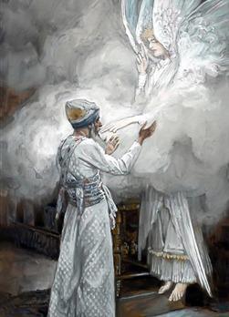 The Vision of Zacharias, James Tissot