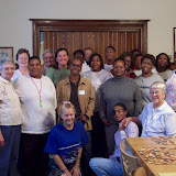 Chicago women's retreat at Angela House.  Features support from Provincial Staff (Jenene Francis) and Cincinnati team.