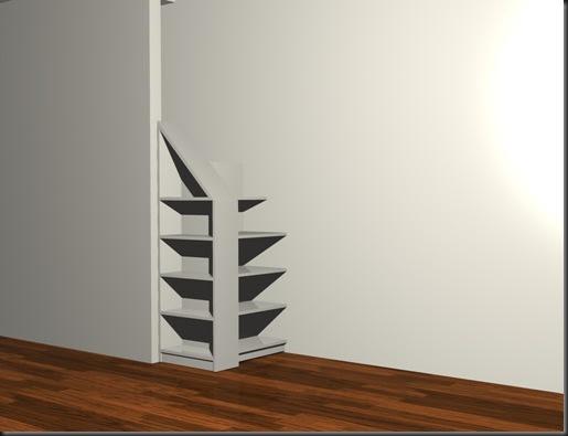 Muebles y maderas mueble bajo escalera - Muebles bajo escalera ...