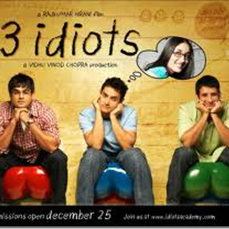 Download 3 Idiots .. Siap sarikata English !
