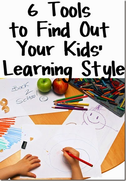 How to figure out your Childs Learning Style - here are 6 helpful tools for homeschool parents