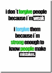 don´t forgive..
