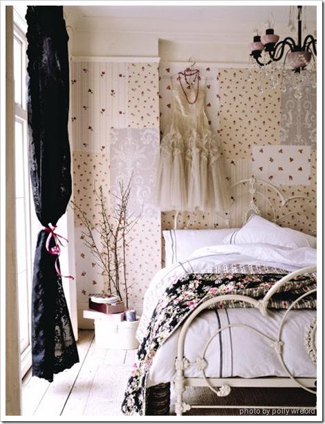 cama blanca hierro polly wreford