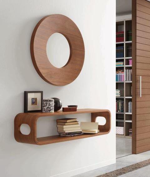 Decorar pasillos con mucho estilo for Muebles para pasillos estrechos