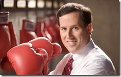 Santorum Boxing Gloves