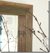 wooden rectangular mirror closeup2