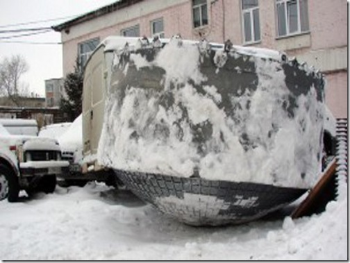 Пришелец из космоса приземлился в Новосибирской области
