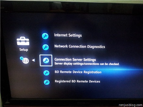 dlna-connection-server-setup