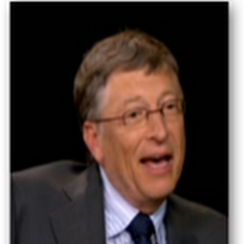 Bill Gates With Charlie Rose Talks India, China, Tablets, Microsoft  And How US Politics Slow Down Innovation -The Philanthropist