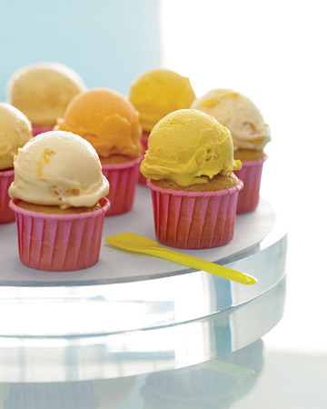 Ice Cream Cupcakes. 