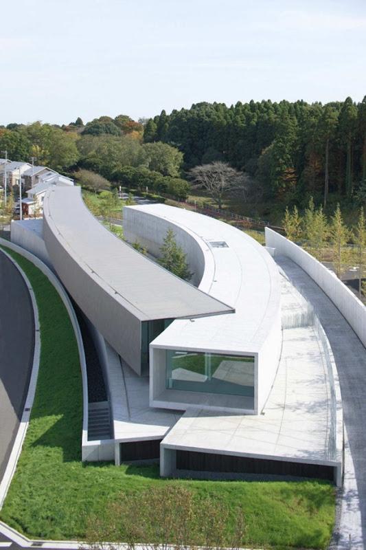 hoki museum by nikken sekkei 2