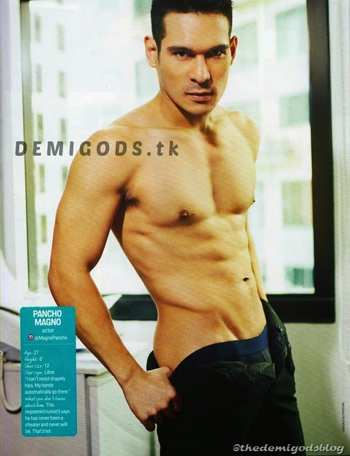 Cosmo Centerfolds 2014 Tower 69 DEMIGODS (8) Pancho Magno 1