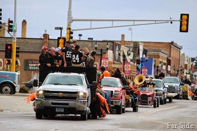 Homecoming parade sept 12