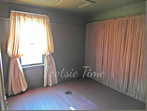 Curtains Ideas cover walls with curtains : Tootsie Time: If The Walls Of This Old House Could Tell A Story ...