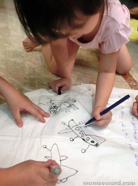 Drawing on Lantern