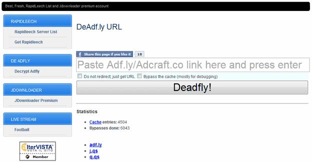 Deadfly-URL