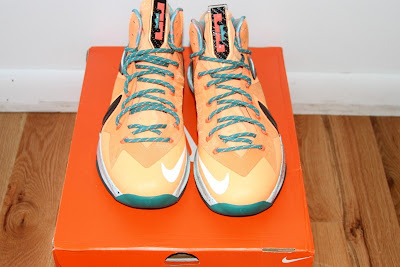 nike lebron 10 ps elite shooting starts pe 5 03 LEBRON X PS Elite Peach Jam AAU EYBL Shooting Stars PE