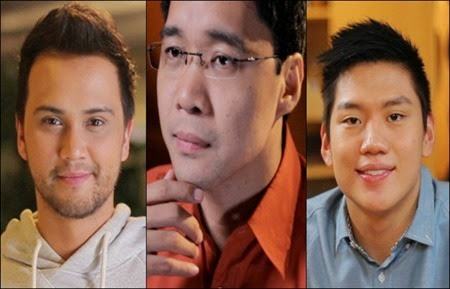 Billy Crawford, Anthony Taberna, Jeron Teng