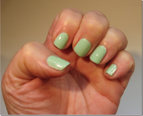 Green with Envy Nails