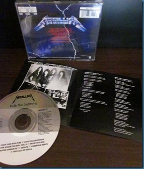 Metallica Ride The Lightning 2