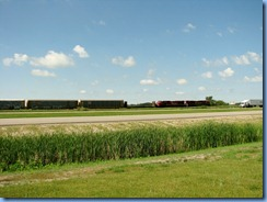 8434 Saskatchewan Trans-Canada Highway 1 - train