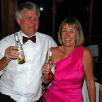 Rob &amp; Leonie Hall really enjoying their Coopers Clear!