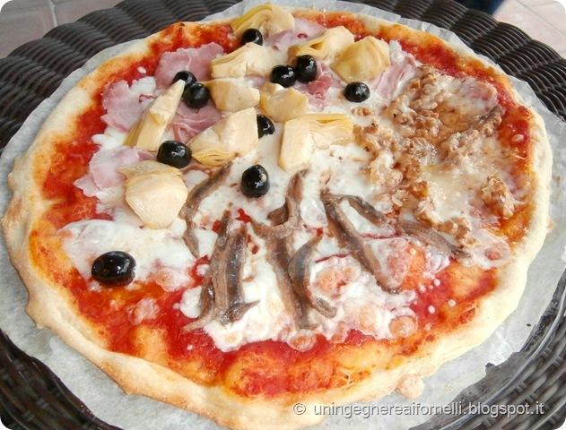 pizza forno casa elettrico croccante scioglievole pizzeria morbida