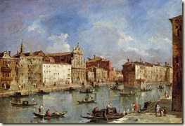 Francesco Guardi - The Grand Canal