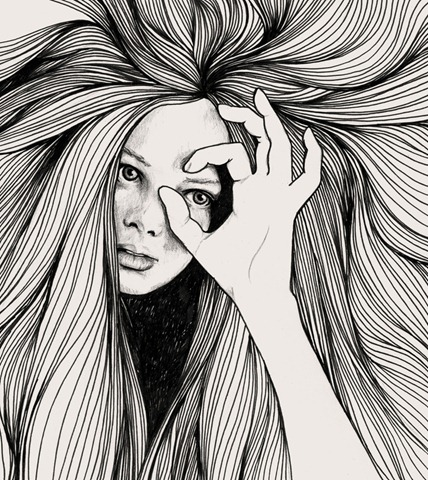 Leo_Art_Print-Hanna_Viktorsson-society6