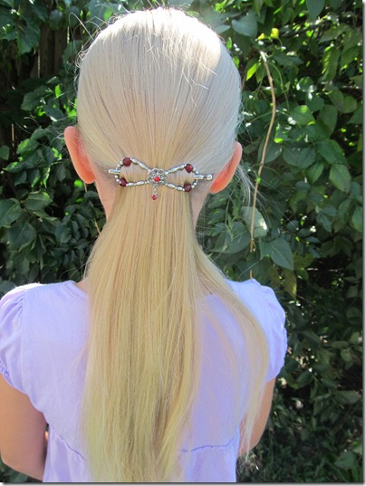 Flexi Clip ponytail
